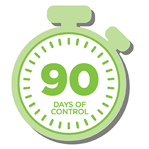 90 days of control